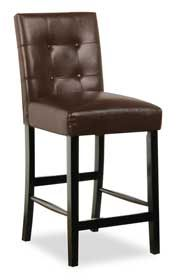 "Brown 24 "" Parsons Barstool"