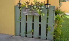 Palets para decorar jardín y terraza