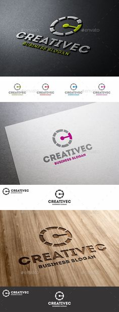 Creative C Letter Logo — Vector EPS #visual #media • Available here → https://graphicriver.net/item/creative-c-letter-logo/8948792?ref=pxcr