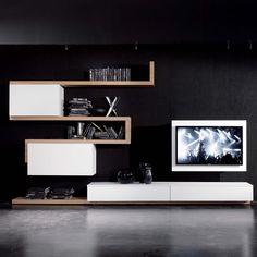 Rack TV-Möbel hängend, schwenkbar und zu öffnen - ARREDACLICK