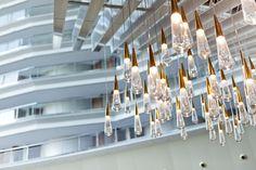 Special lighting for Fairmont Rey Juan Carlos I Hotel in Barcelona. LEDS-C4
