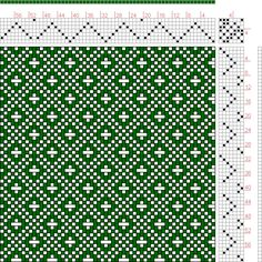 Hand Weaving Draft: Page 121, Figure 22, Donat, Franz Large Book of Textile Patterns, 7S, 7T - Handweaving.net Hand Weaving and Draft Archive
