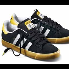 online store 426f9 6bc21 Adidas Custom chewy yellow black skate shoes W 9 Taking offers on all items!