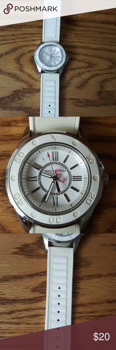 Juicy couture Watch Juicy couture white watch no battery Accessories Watches