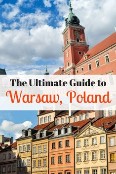 Poland's capital is full of beautiful buildings and interesting museums to explore. This helpful guide to Warsaw, Poland will help you with your next visit!