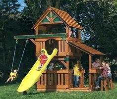 Lots of yard fort ideas!