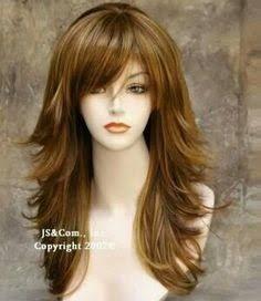 Resultado de imagen para imagenes de cortes de pelo largo en capas