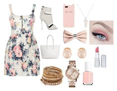 """Ready 4 The Party pt.2"" by fabiola-maria on Polyvore featuring moda, Cameo Rose, Giuseppe Zanotti, Kate Spade, H&M, Chan Luu, Kenneth Jay Lane, Michael Kors, kiz&Co. y Essie"