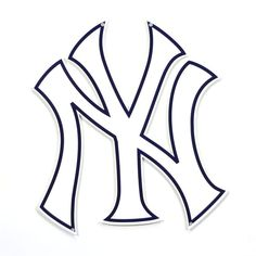 Introduce some serious New York Yankees décor into your fan cave with this Steel Sign! Its sharp graphics will make a stunning display of your status as a longtime New York Yankees fan. Yankees Logo, Yankees Fan, New York Yankees, Toddler Sports, Laser Cut Steel, Logo Sign, Wedding Tattoos, Book Images, Street Signs
