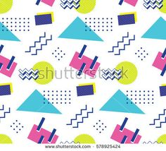 90's style seamless pattern, download link https://www.shutterstock.com/image-vector/90s-style-seamless-pattern-578925424?rid=454507