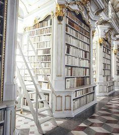 Admont Abbey library in Austria