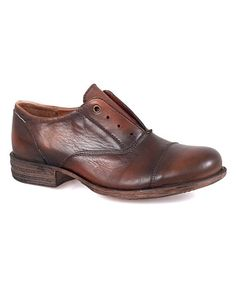9f10b26998700 Loving this Brandy Lainey Leather Oxford on  zulily!  zulilyfinds Miz Mooz