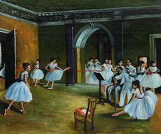 Edgar Degas Paintings Reproduction for sale, Canvas Art, Custom oil painting, Hand-painted, High quality Famous Art Paintings, Degas Paintings, Famous Art Pieces, Music Painting, Fantasy Art Women, Modern Art Deco, Edgar Degas, Collaborative Art, Impressionist Art