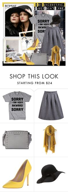 """""""Romwe contest"""" by irmica-22 ❤ liked on Polyvore featuring Paul Frank, MICHAEL Michael Kors, Charles by Charles David, women's clothing, women, female, woman, misses and juniors"""