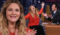 Drew Barrymore sings Grease as she 'switches lips' with Jimmy Fallon