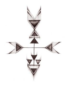 arrow tattoo design #tattoo #ideas #idea #design #geometric