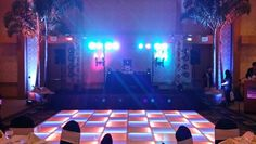 Westin Hotel Employee Christmas Party..  DJ Services,  PA Sound, Stage Lighting, Uplighting, LED Dance Floor.  Maui's Only Full Service DJ Company..