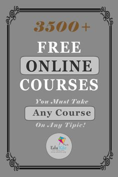 Learning Websites, Educational Websites, Learning Resources, Educational Crafts, Free College Courses, Free Courses, College Classes, Education Sites, Free Education