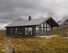 Nordavind, hytte med vindu mot naturen | Norgeshus