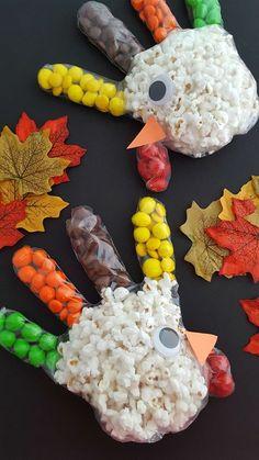 Turkey Popcorn Glove