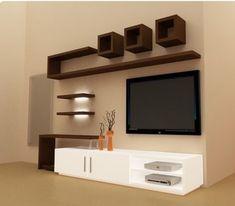 Best Wooden Tv Stand Designs Ideas 7 — Home Design Ideas Simple Tv Unit Design, Tv Stand Modern Design, Stand Design, Tv Unit Interior Design, Tv Unit Furniture Design, Tv Wall Design, Wooden Furniture, Modular Furniture, Interior Photo