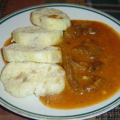 Podle původní receptury z kližky Czech Recipes, Ethnic Recipes, Food 52, Mashed Potatoes, Beef, Treats, Chicken, Cooking, Kebabs