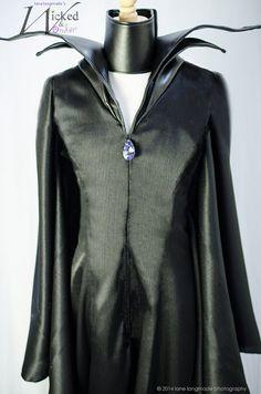 Maleficent Costume Dress for Girls Halloween por wickedandwonder