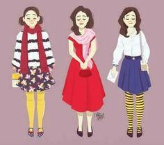 Louisa Clark style