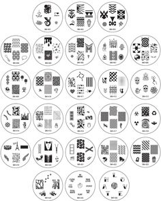 Bundle Monster 26pc Nail Art Image Manicure Stamping Plates-CYO 1 Collection -- Check this awesome product by going to the link at the image.