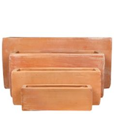 Tuscan Path 54cm Terracotta Staight Trough Pot | Bunnings Warehouse