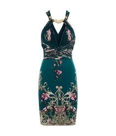 View the Embellished Floral Dress