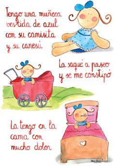*Letras de Canciones infantiles. - EduInf35 Spanish Songs, Spanish Lessons, Preschool Education, Preschool At Home, Rhyming Activities, Infant Activities, Spanish Language Learning, Teaching Spanish, Music For Kids