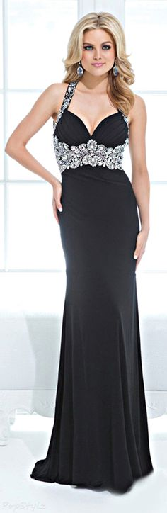Tony Bowls Evening Gown ~    My friend and genius, Tony Bowls, always designs a Hit!  Love him and his staff.
