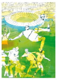 Ready for the game? This is today's petiteposte:      Postcard by Anja Denz  www.petiteposte.com