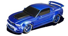 New Blue 1/18 Scale Mustang Boss Full Function Radio Remote Control RC Car  #XQ
