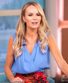 Heartbreaking: Amanda Holden has candidly recalled the moment that she had to decide wheth. Amanda Holden, Girls In Love, Hot Girls, Britain's Got Talent, Celebrity Faces, Tv Presenters, Sexy Older Women, Celebs, Celebrities