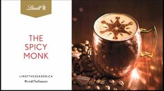 Holiday gift shopping time! Need a pick-me-up after hitting the mall? Try this sweet and spicy hot chocolate made with decadent Lindor Dark Caramel Sea Salt Truffles and Lindt Excellence Intense Chili Dark Chocolate. #LindtTheSeason