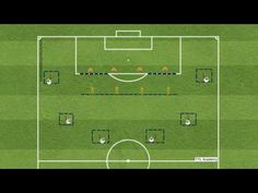 Simple Football Coaching Practice to introduce simple Defensive Techniques and Principles to Players. Part of the TTL Football Academy Series Football Youtube
