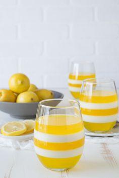 Easy lemon parfait cups