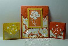 Bella´s Bastelecke: Ornate Flowers.......VIP-Do......Flap Card.......