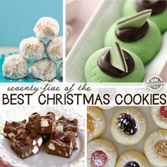 75 Christmas Cookies Recipes We Love - so many amazing cookie recipes - great for cookie plates and holiday giving!