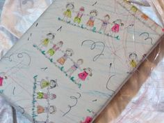 Turn unprinted newsprint paper into DIY gift wrap for your children's gifts. This is such a fun project, there is no right or wrong! The kids can even help to make their own gift wrap and use it to cover birthday gifts for their friends. Birthday Gift Wrapping, Birthday Gifts For Kids, Gift Wrapping Paper, Childrens Gifts, Fun Projects, Really Cool Stuff, Crafts For Kids, Best Gifts, Friends