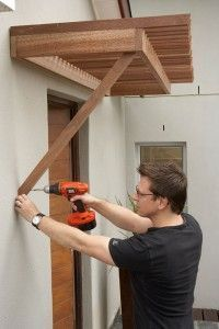 Construct a Pergola Poor Glenn another project for the guy!