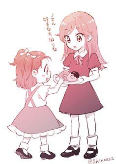 「アイカツ!log 14」/「シノアサ」の漫画 [pixiv]