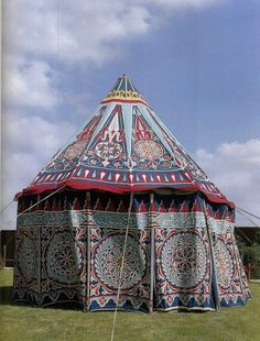 this one is gorgeous - Ottoman tent & Osmanlı çadır Larp, Tent Awning, Lightweight Tent, Canvas Tent, Camping Glamping, Outdoor Camping, Gypsy Wagon, Le Far West, Ottoman Empire