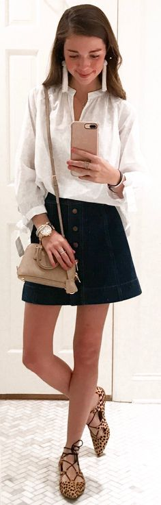 cute outfits to try this spring spring style spring fas White Ripped Skinny Jeans, Ripped Denim, Black Skinnies, Grey Knit Dress, Leopard Pumps, Cozy Winter Outfits, Bleached Denim, Spring Fashion, Fashion Fashion