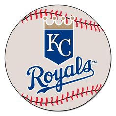 Kansas City Royals Baseball Mat 27 diameter