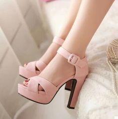 High Heels Boots, Platform High Heels, Shoe Boots, Shoes Heels, Strap Heels, Ankle Strap, Heeled Sandals, Strap Sandals, Pumps