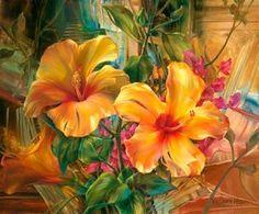 pintar flores Vie Dunn Harr