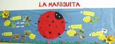 Proyecto La mariquita. Mural de aula. Mapa gigante de ideas. Educación Infantil.